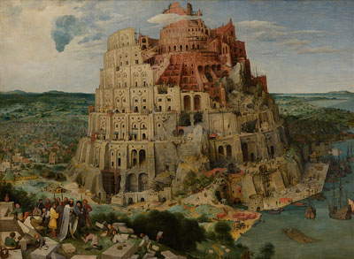 wikimedia img of babel painting