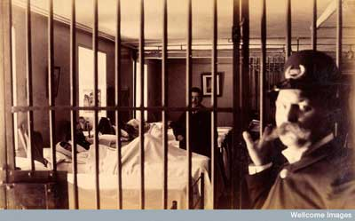 hospital ward off limits